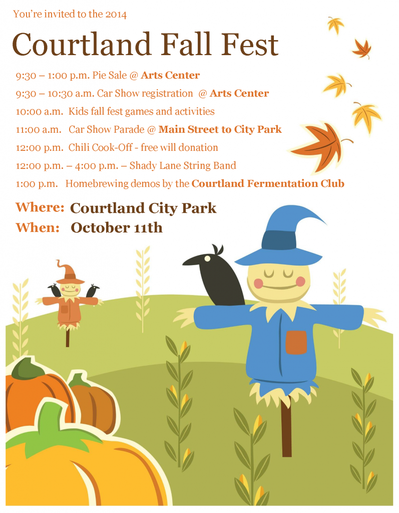Courtland Fall Fest Saturday Oct. 11th