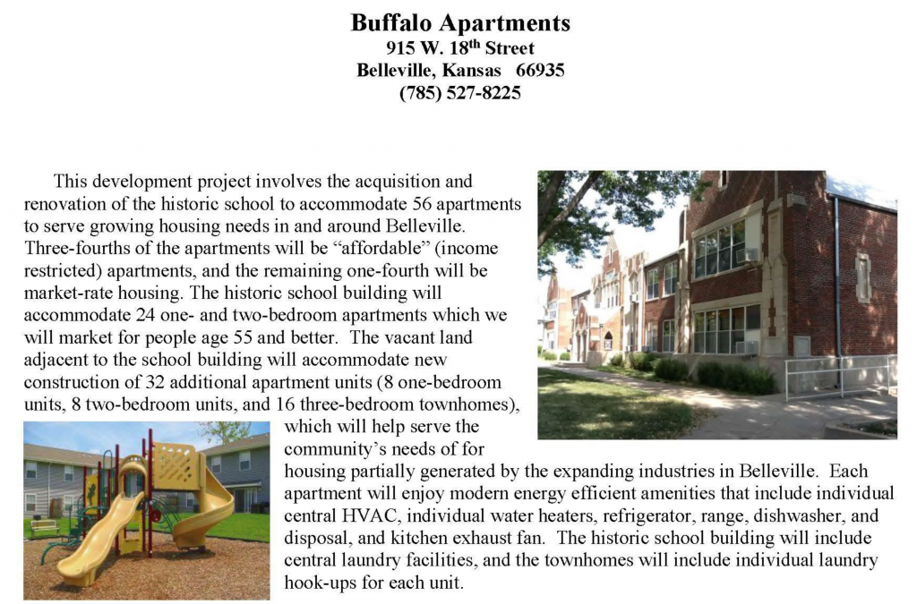 Buffalo Apartments (Old Middle School) Open House