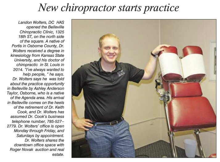 New Business: Belleville Chiropractic Clinic