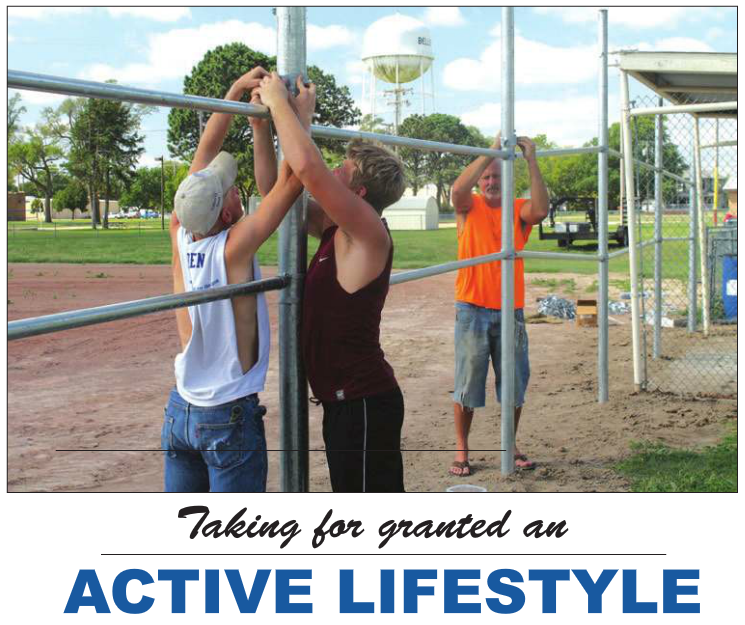 Taking for granted an ACTIVE LIFESTYLE
