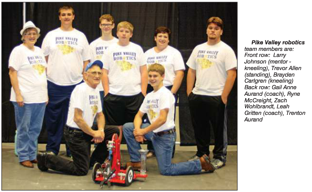 Pike Valley robotics team places 5th