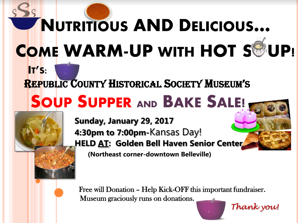 Soup Supper – Republic Co. Museum