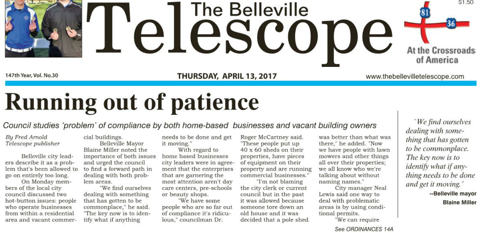 Running out of patience | Republic County Economic Development