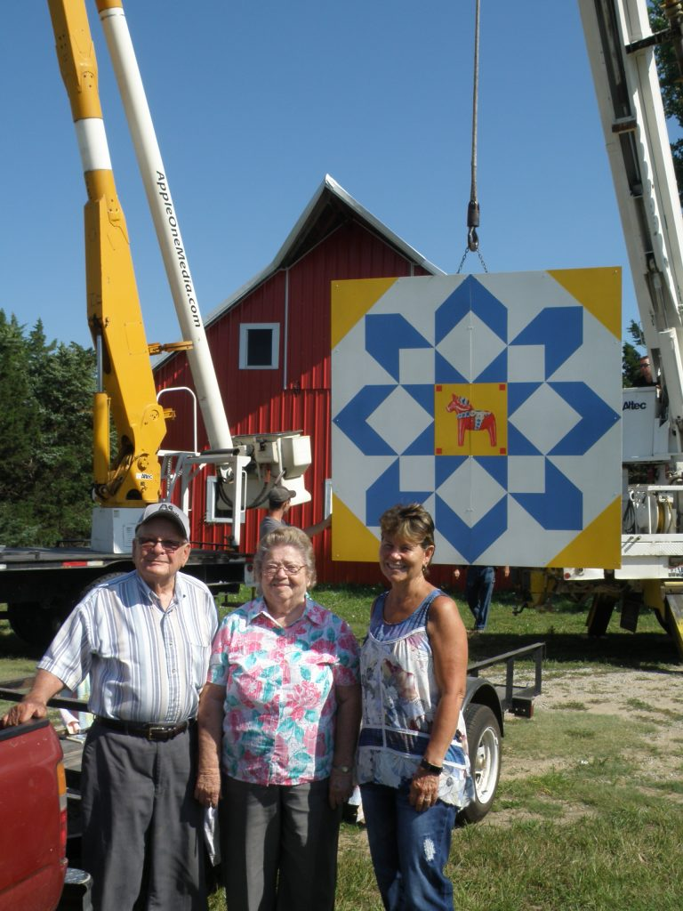 Barn Quilt added at the Museum