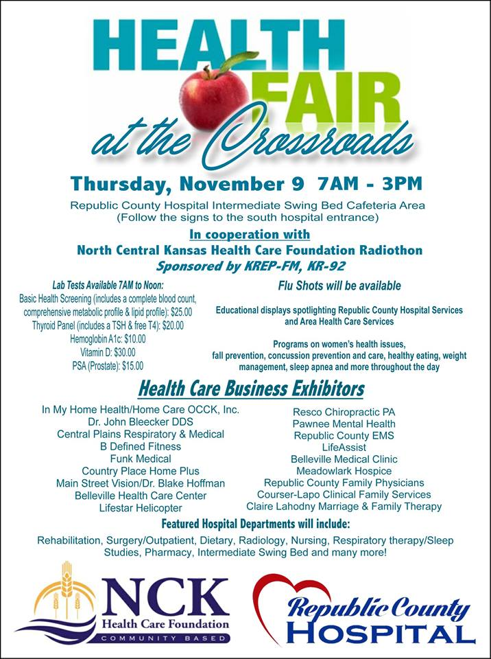 Health Fair at the Crossroads